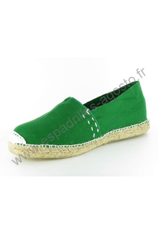 Espadrille Vert Bouteille