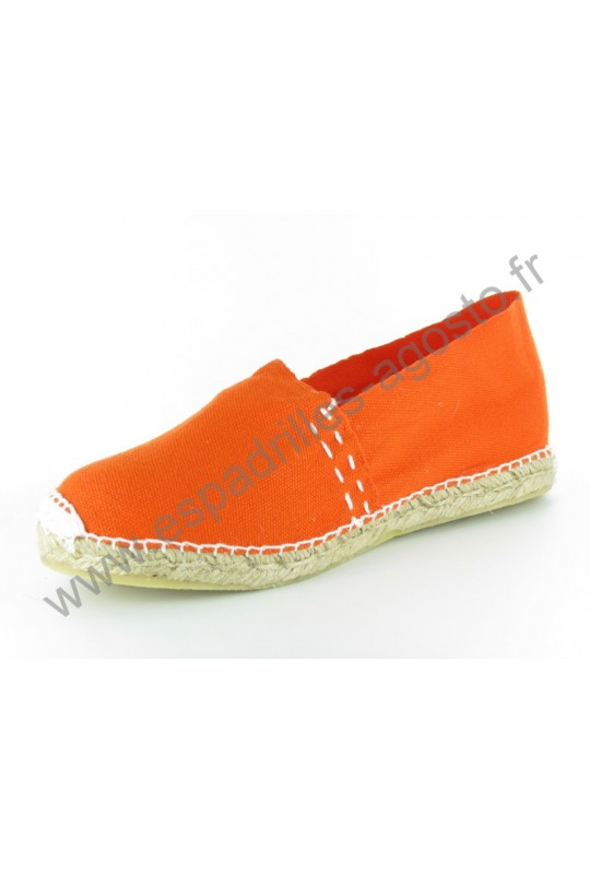 Espadrille Uni Orange