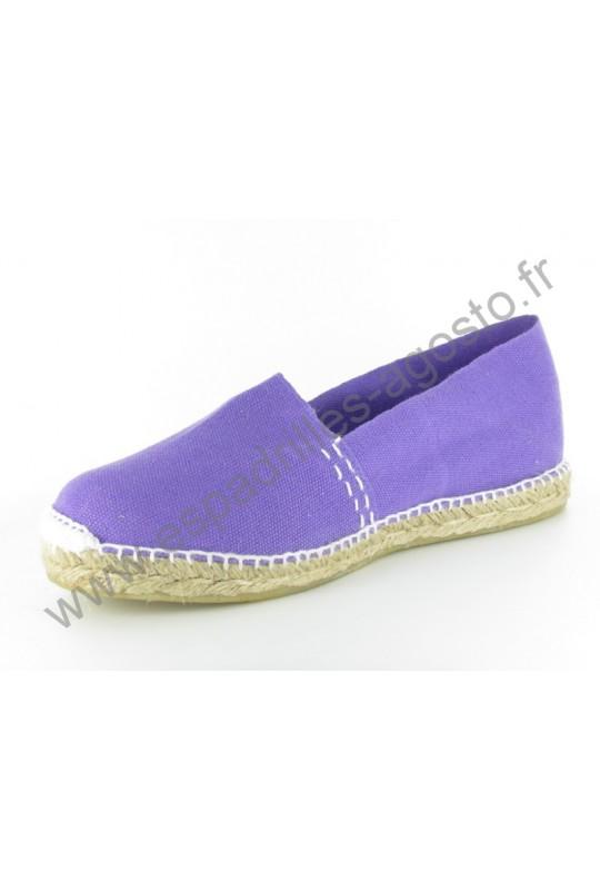 Espadrille Uni Violet